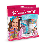 American Girl Texters & Headband Knit Kit