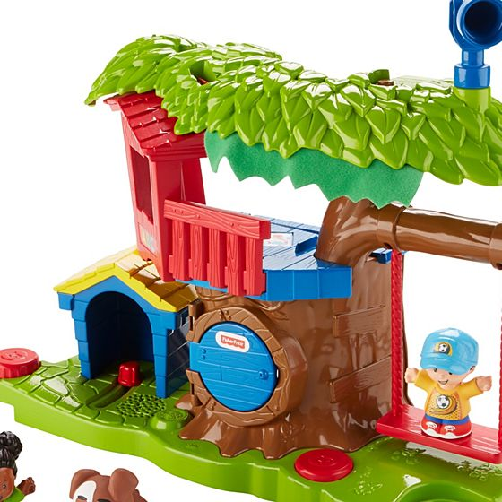 Little People® Swing & Share Treehouse - Shop Little ...