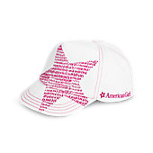 American Girl Shining Star Baseball Hat for 18-inch Dolls