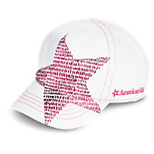 American Girl Shining Star Baseball Hat for Girls