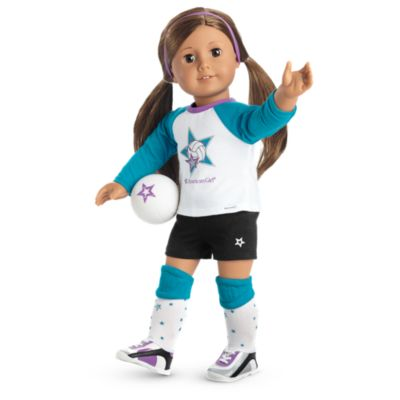 Star Player Volleyball Outfit - Popular Girl Toys