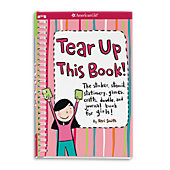 American Girl Tear Up This Book