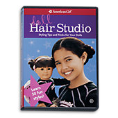 American Girl Doll Hair Studio DVD