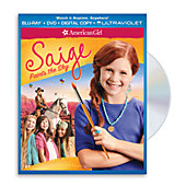 American Girl Saige Paints the Sky Two-Disc Blu-ray/DVD Combo Pack