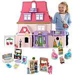 Loving Family Dollhouse & Room Starter Gift Set (Caucasian)