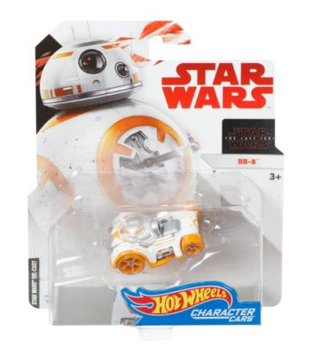 Mattel Brands: Mattel, Barbie, Fisher-Price & Hot Wheels - Hot Wheels Star Wars BB-8 Character Car Photo