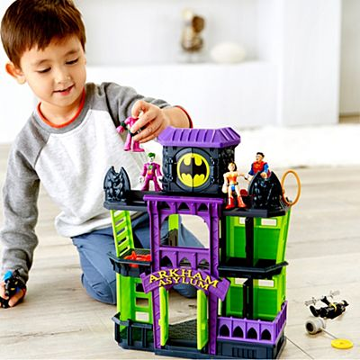 Playsets and action figures