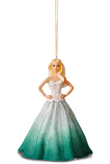 Hallmark Keepsake Holiday Barbie™ Ornaments - Green Dress