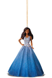 Hallmark Keepsake Holiday Barbie™ Ornaments - Blue Dress