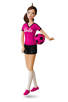 Hallmark Keepsake Holiday Barbie™ Ornaments - Soccer Player