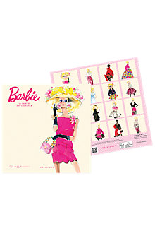 "2017 Barbie™ 7""  Mini Calendar"