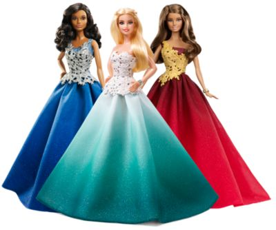 Mattel Brands: Mattel, Barbie, Fisher-Price & Hot Wheels - Holiday Barbie Gift Set Photo