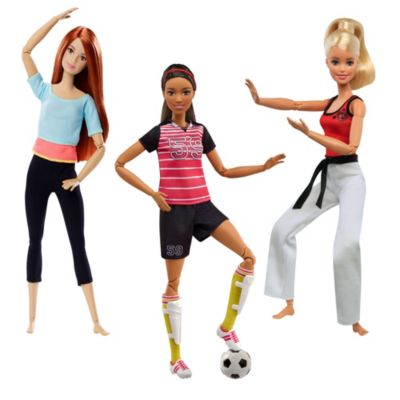 Mattel Brands: Mattel, Barbie, Fisher-Price & Hot Wheels - Barbie Made to Move Play Kit Photo