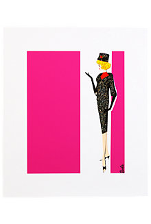 Barbie Art Print—Career Girl