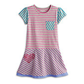STRIPED DRESS-MYAG G