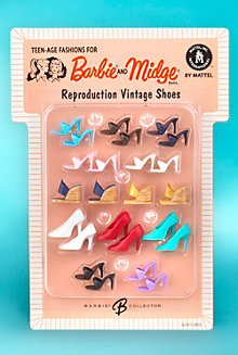 Barbie® Doll Reproduction Vintage Shoes