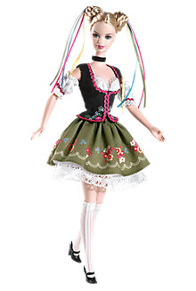 <em>Oktoberfest</em> Barbie&#174; Doll