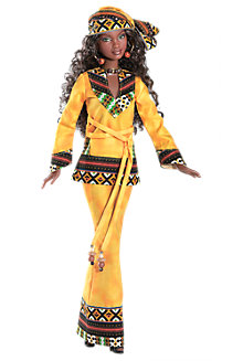 <em>Kwanzaa</em> Barbie&#174; Doll