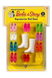 Barbie® Doll & Stacey® Doll Reproduction Mod Shoes