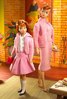 Knitting Pretty™ Barbie® Doll and Skipper® Doll Giftset