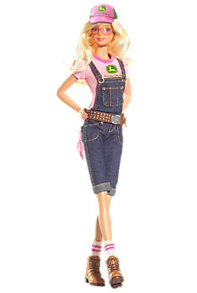 <em>John Deere</em> Barbie&#174; Doll