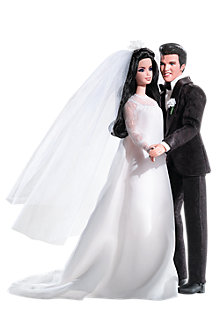 Elvis&#174; and <em>Priscilla</em> Barbie&#174; Doll and Elvis Doll Giftset