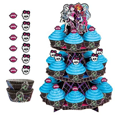 Monster High Cake Decoration Kit : Monster High Party Supplies, Invitations & Decorations ...