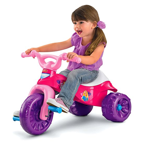 image for gp barbie tough trike from mattel