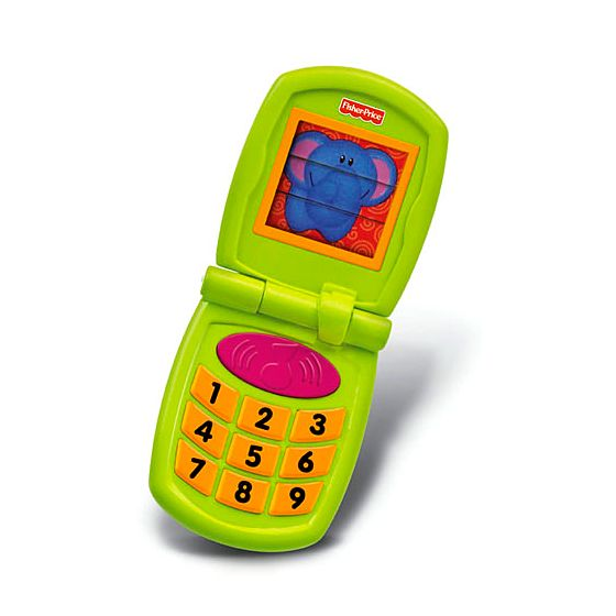 Growing Baby® Fun Sounds Flip Phone