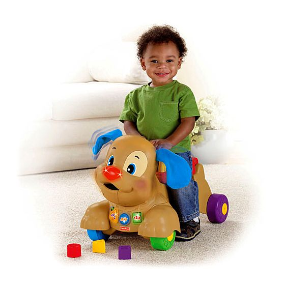 Laugh and learn stride to ride puppy kmart