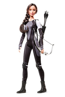 <em>The Hunger Games: Catching Fire</em> Katniss Doll