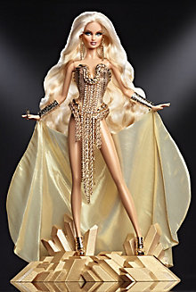 <em>The Blonds</em> Blond Gold Barbie&#174; Doll