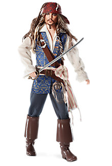 Captain Jack Sparrow Doll
