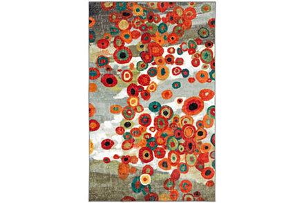 Tossed Floral Rugs Multi Area Rugs Mohawk Home Flooring