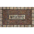 Mosaic Welcome Ht Terracotta Mosaic