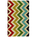 Multi Chevron Vb Coir Blch Ground
