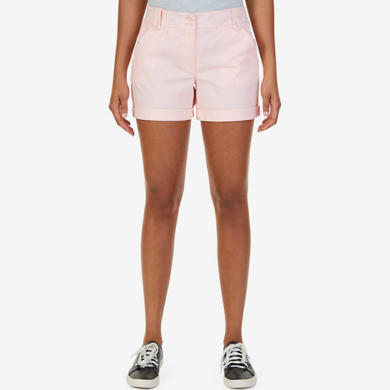 Stretch Twill Double-Button Front Short - Ablaze