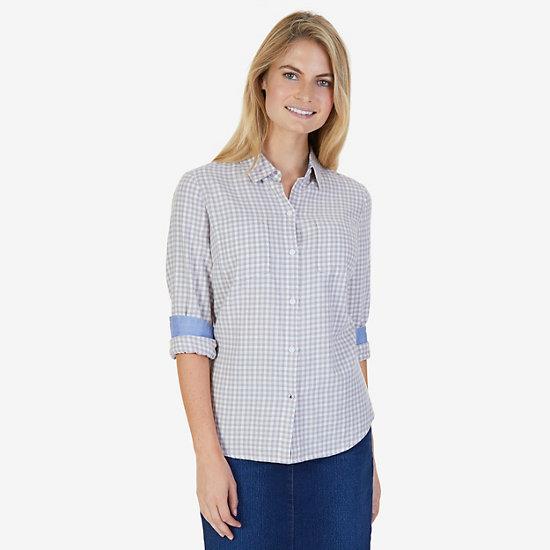Gingham Cotton Flannel Shirt