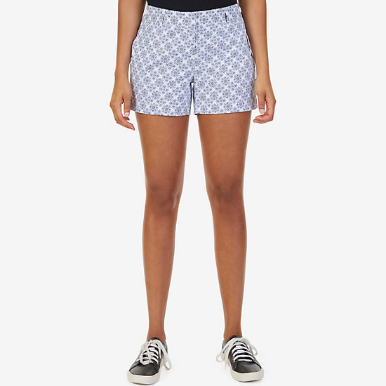 "Printed Sailor Short (4"") - Sport Navy"