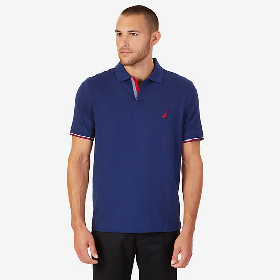 Classic Fit Polo Shirt - J Navy