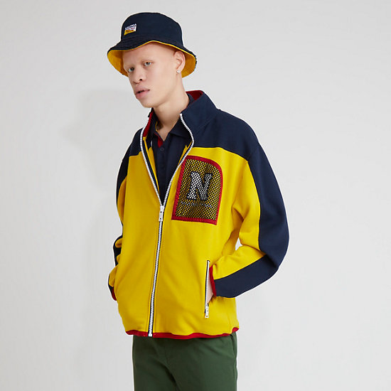 The Lil Yachty Collection by Nautica Full Zip Fleece - Shoreline Yellow