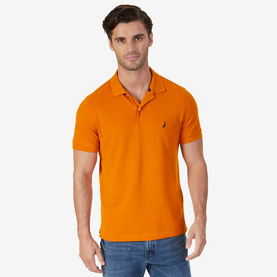 Slim Fit Deck Polo Shirt