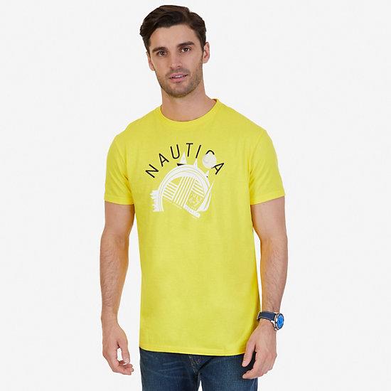 Regatta Sponsor Graphic T-Shirt,Vibrant Yellow,large