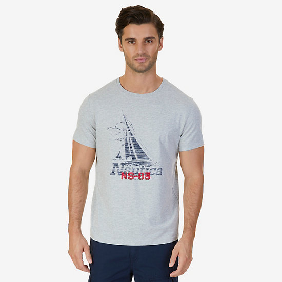 Faded J Class T-Shirt - Grey Heather