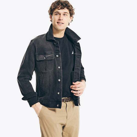 Solid Long Sleeve T-Shirt - True Black