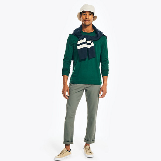 Solid Long Sleeve T-Shirt