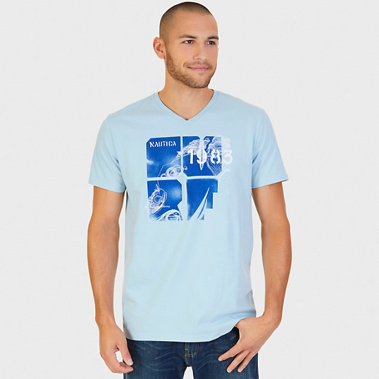 La Jolla Shores Graphic T-Shirt - Bay Blue