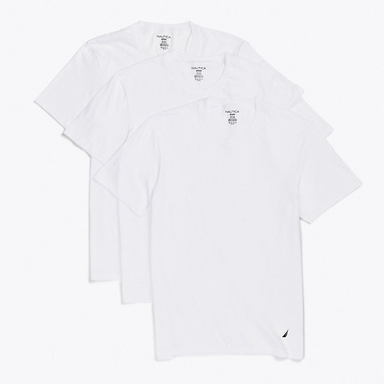 Crew T-Shirt 3-Pack - Bright White