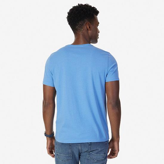Quad Challenge Graphic T-Shirt,Riviera Blue,large
