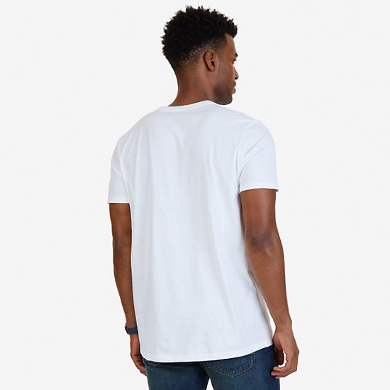 N83 Graphic T-Shirt,Bright White,large